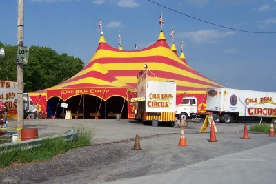 Cole Brothers Circus phot at Camelback